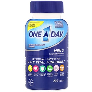 One-A-Day, Men's Complete Multivitamin, 200 Tablets