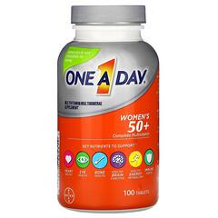 One-A-Day, 女性 50+,多面複合維生素,100 片