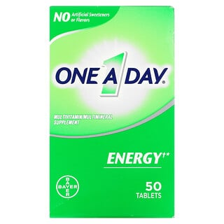 One-A-Day, Energy, Multivitamin/ Multimineral Supplement, 50 Tablets