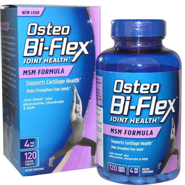 Osteo Bi-Flex, Joint Health, здоровье суставов, формула МСМ, 120 таблеток в оболочке (Discontinued Item)