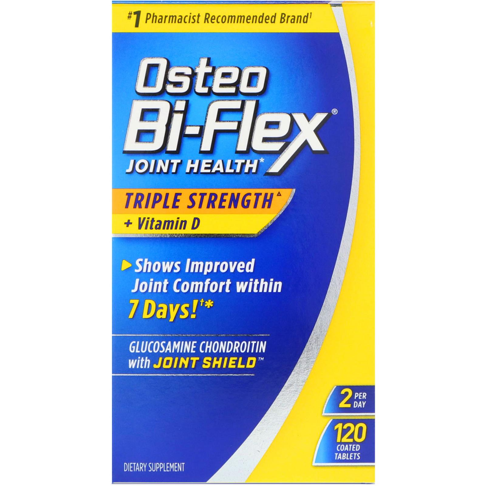 b109fb0c2617a Osteo Bi-Flex, Здоровье суставов, тройная сила + витамин D, 120 ...