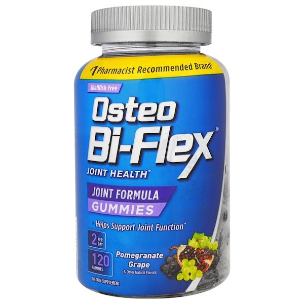 Osteo Bi-Flex, Joint Formula Gummies, Pomegranate Grape, 120 Gummies (Discontinued Item)