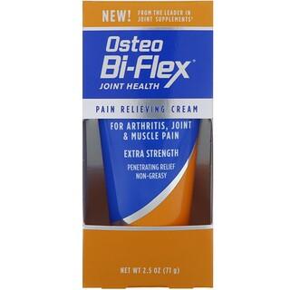 Osteo Bi-Flex, Pain Relieving Cream, 2.5 oz (71 g)