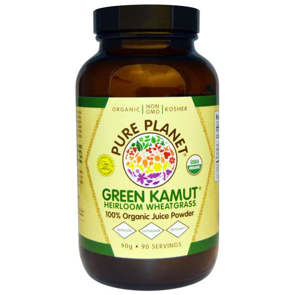 Pure Planet, Green Kamut Heirloom Wheatgrass, 90 g