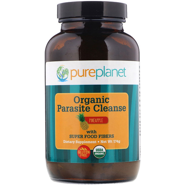 Pure Planet, Organic Parasite Cleanse, 174 g