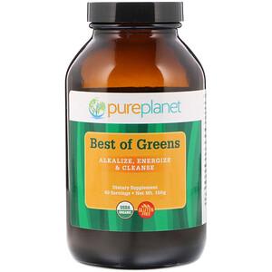 Пуре Планет, Organic Best of Greens, 150 g отзывы покупателей