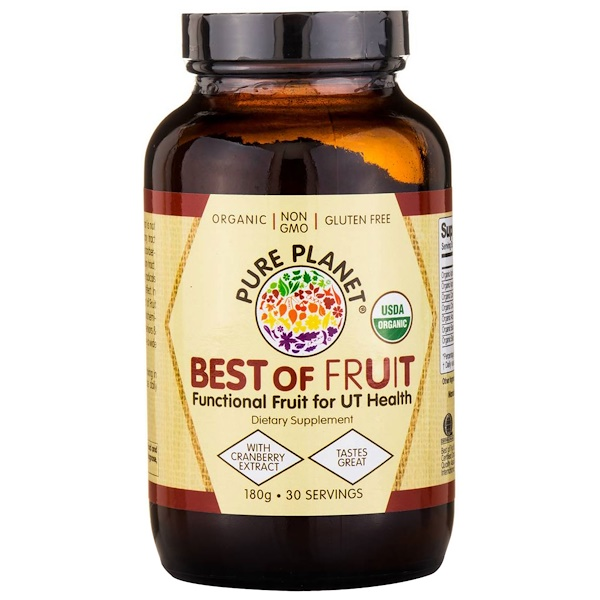 Pure Planet, Best of Fruit, 180 g (Discontinued Item)