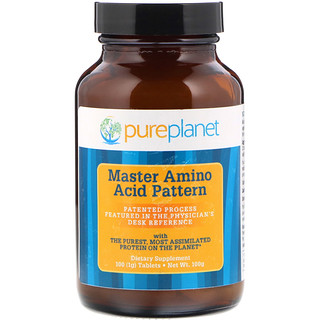 Pure Planet, Master Amino Acid Pattern, 1000 mg, 100 Tablets