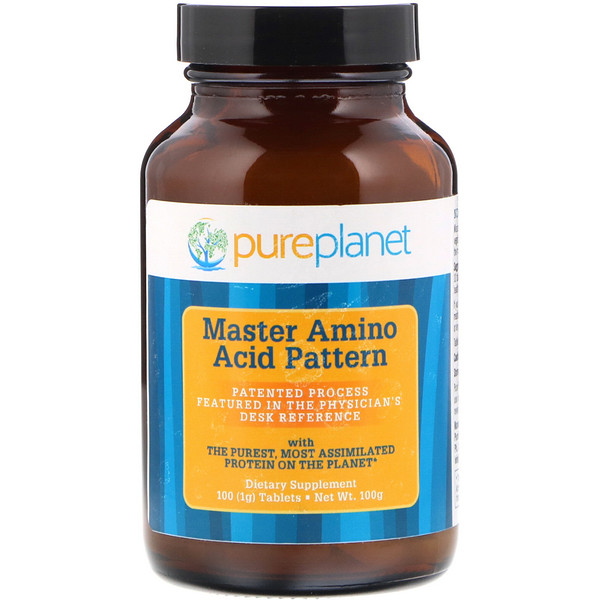 Master Amino Acid Pattern, 1000 mg, 100 Tablets