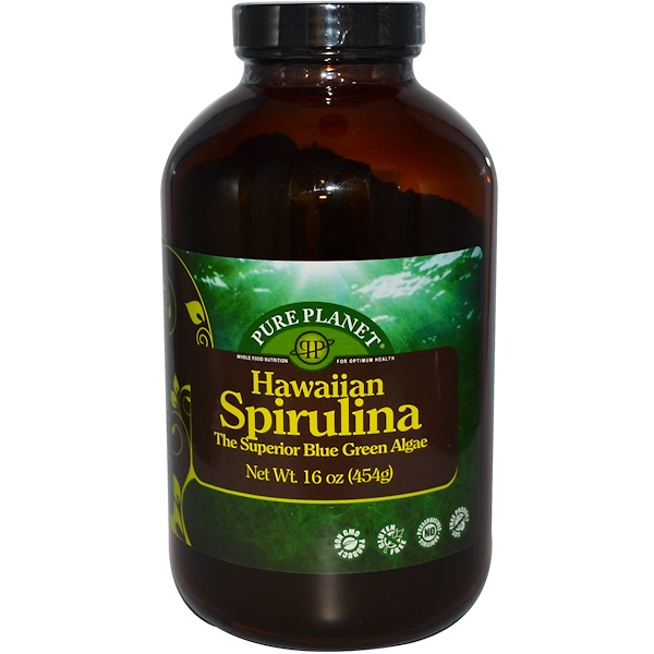 Pure Planet, Hawaiian Spirulina, 16 oz (454 g) (Discontinued Item)