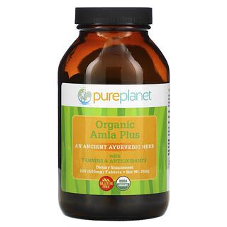 Pure Planet, Amla Plus, 500 mg, 500 Tablets