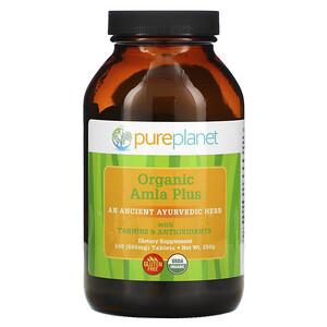 Пуре Планет, Amla Plus, 500 mg, 500 Tablets отзывы