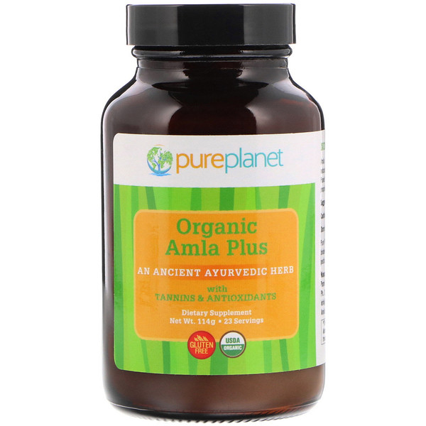 Pure Planet, Amla Plus Orgânica, 114 g (Discontinued Item)