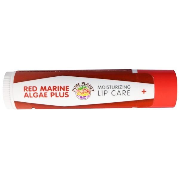 Pure Planet, Red Marine Algae Plus, Lip Care, Vanilla Mint (Discontinued Item)