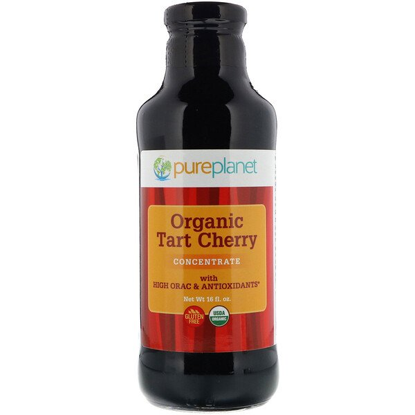 Pure Planet, Organic Tart Cherry, Concentrate, 16 fl oz