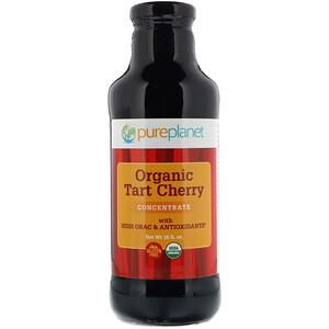 Пуре Планет, Organic Tart Cherry, Concentrate, 16 fl oz (473 ml) отзывы