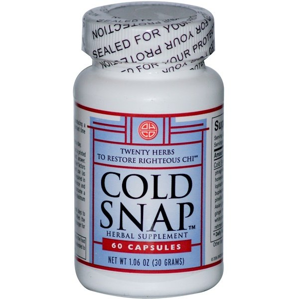 OHCO, Cold Snap, 60 Capsules (Discontinued Item)
