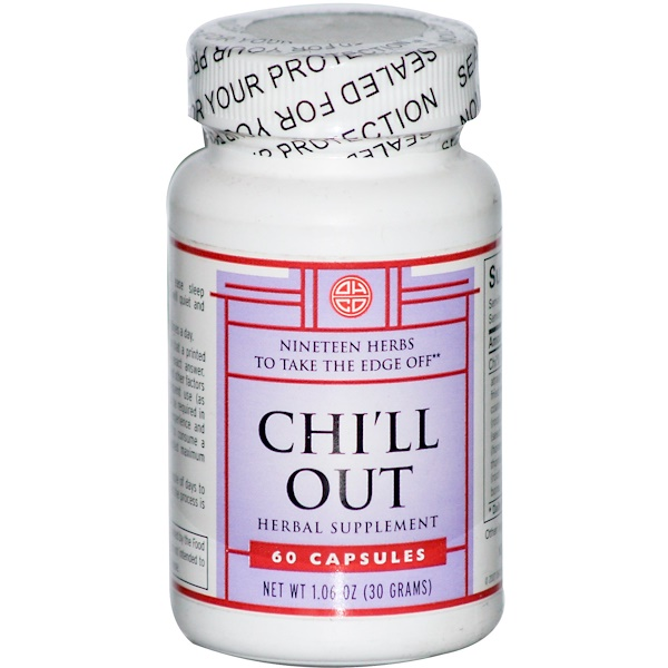 OHCO, Chi'll Out, 60 Capsules (Discontinued Item)
