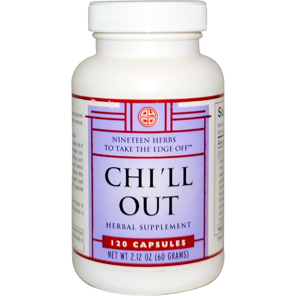 OHCO, Chi'll Out, 120 Capsules (Discontinued Item)