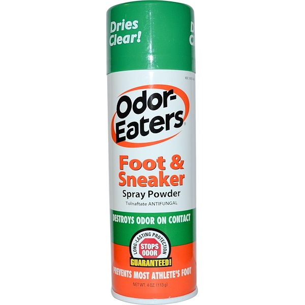 Odor Eaters, Foot & Sneaker Spray Powder, 4 oz (113 g) (Discontinued Item)