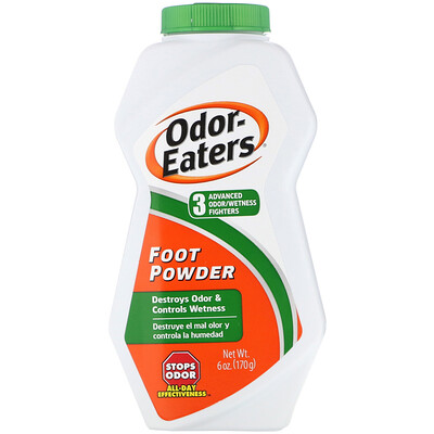 Odor Eaters Порошок от запаха ног, 6 унций (170 г)