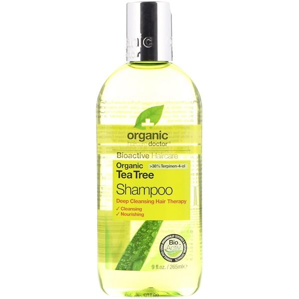 Organic Doctor, 有機茶樹洗髮露,9液量盎司(265毫升)
