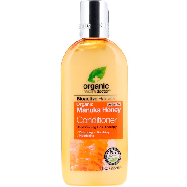 Organic Doctor, Replenishing Hair Therapy, Conditioner, Organic Manuka Honey, 9 fl oz (265 ml) (Discontinued Item)
