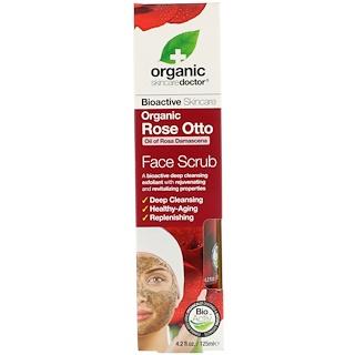 Organic Doctor, Organic Rose Otto Face Scrub , 4.2 fl oz (125 ml)