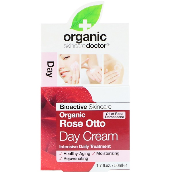 Organic Doctor, Organic Rose Otto Day Cream, 1.7 fl oz (50 ml) (Discontinued Item)