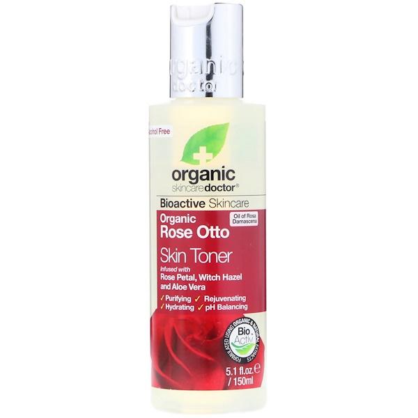 Organic Doctor, Organic Rose Otto Skin Toner, 5.1 fl oz (150 ml)