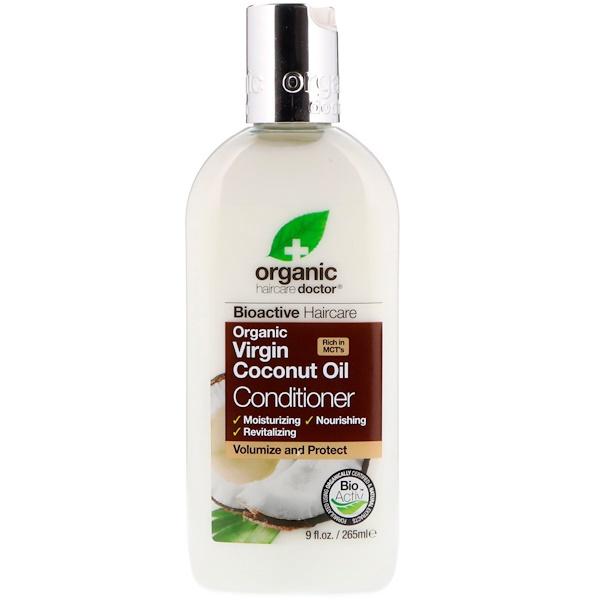 Organic Doctor, Organic Virgin Coconut Oil Conditioner, 9 fl oz (265 ml)