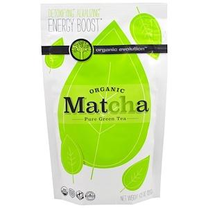Органик Эволюшен, Organic Matcha, Pure Green Tea, 4.23 oz (120 g) отзывы покупателей