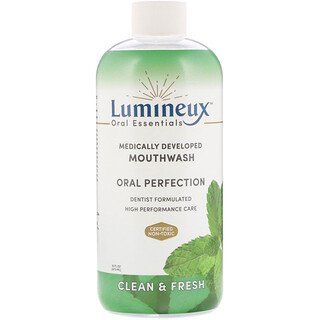 Lumineux Oral Essentials, Medically Developed Mouthwash, Oral Perfection, Clean & Fresh, 16 fl oz (473 ml)
