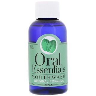 Oral Essentials, Mouthwash, Original Formula, 2 fl oz (59.15 ml)