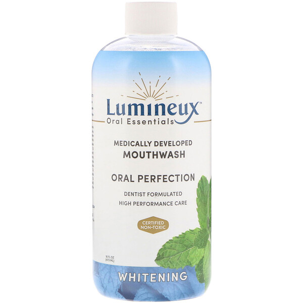 Lumineux Oral Essentials, Medically Developed Mouthwash, Oral Perfection, Whitening, 16 fl oz (473 ml) (Discontinued Item)