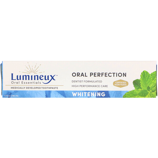 Lumineux Oral Essentials, Medically Developed Toothpaste, Whitening, 3.75 oz (99.2 g)