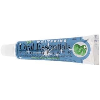 Oral Essentials, Toothpaste with Zinc, Whitening, .8 oz (22.7 g)