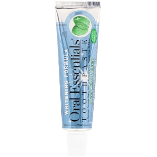 Oral Essentials, Toothpaste with Whitening Formula, .8 oz (22.7 g)