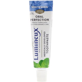 Lumineux Oral Essentials, Lumineux, Medically Developed Toothpaste, Whitening, .8 oz (22.7 g)
