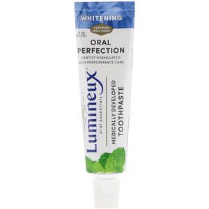 Орал Ессентиалс, Medically Developed Toothpaste, Whitening, .8 oz (22.7 g) отзывы покупателей