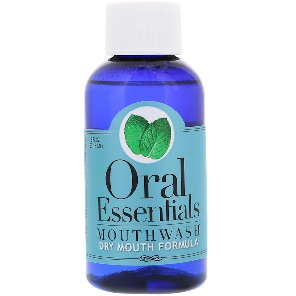 Oral Essentials, Mouthwash, Dry Mouth Formula, 2 fl oz (59.15 ml)