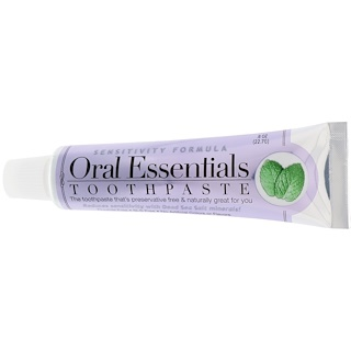 Oral Essentials, Toothpaste, Sensitivity Formula, .8 oz (22.7 g)