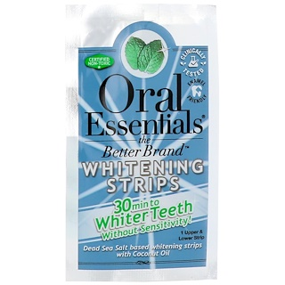 Oral Essentials, Whitening Strips, 1 Upper & Lower Strip
