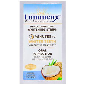 Орал Ессентиалс, Lumineux, Medically Developed Whitening Strips, 1 Upper & Lower Treatment отзывы покупателей