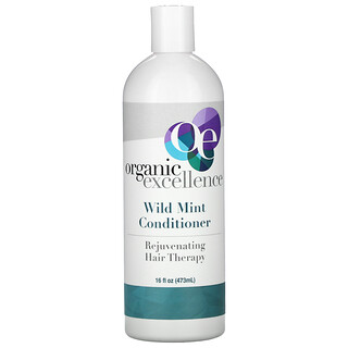 Organic Excellence, Conditioner, Rejuvenating Hair Therapy, Wild Mint, 16 fl oz (473 ml)