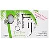 Organic Fiji, Organic Face and Body Coconut Oil Soap Bar, Tea Tree Spearmint, 7 oz (198 g)