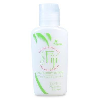 Organic Fiji 滋養乳液,含機椰子油,茶樹留蘭香,3盎司(89毫升)