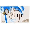 Organic Fiji, Organic Face and Body Coconut Oil Soap Bar, Fragrance Free, 7 oz (198 g)