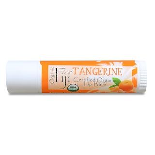 Organic Fiji, Certified Organic Lip Balm, Tangerine, 0.15 oz (4.25 g)