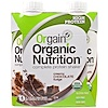 Orgain, Organic Nutrition Complete Protein Shake, Creamy Chocolate Fudge, 4 Pack, 11 fl oz (330 ml)